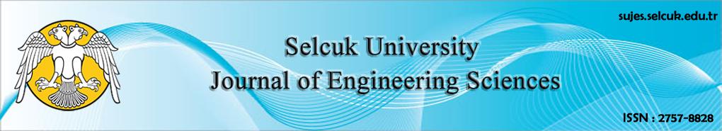 Selcuk University Journal of Engineering Sciences
